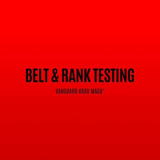 Belt & Rank Testing Vanguard Krav Maga