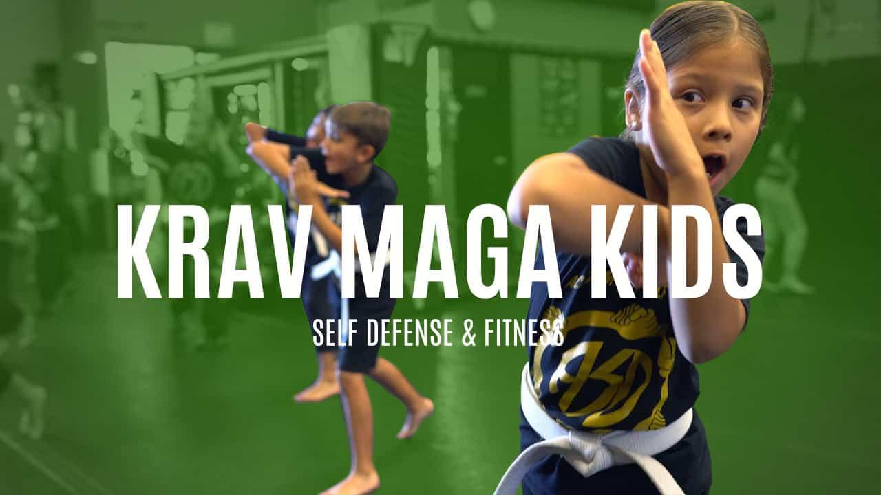 Krav Maga Kids Self Defense Program